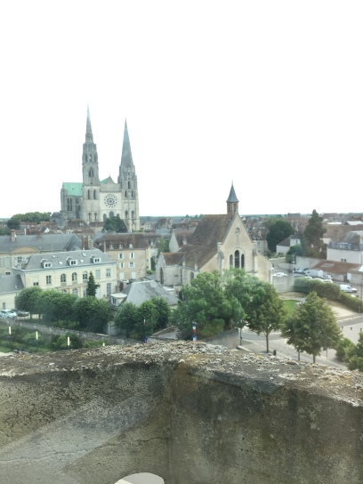 View of the Cathedral from top floor
